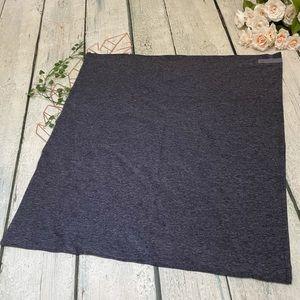 Lululemon scarf on the move Heather purple Nulu customizable snap buttons soft